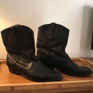 Vintage Seychelles Leather Cowboy Boots